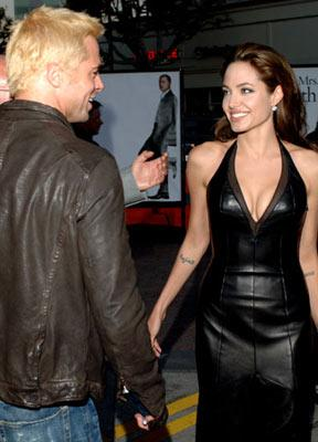 Brad Pitt and Angelina Jolie at the Los Angeles premiere of 20th Century Fox's Mr. & Mrs. Smith
