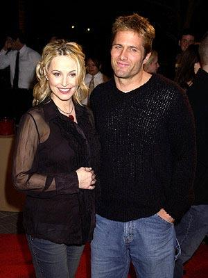 Josie Bissett and Rob Estes at the Hollywood premiere of Paramount's Orange County