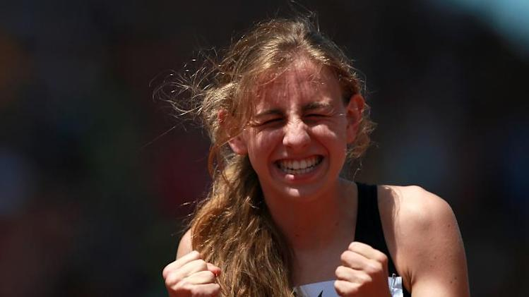 Mary Cain pictured at the IAAF Diamond League Prefontaine Classic in Oregon on June 1, 2013