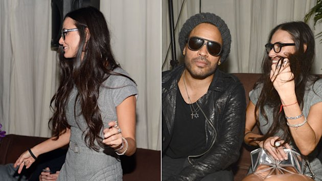 Demi Moore's Bizarre, Star-Studded Night Out
