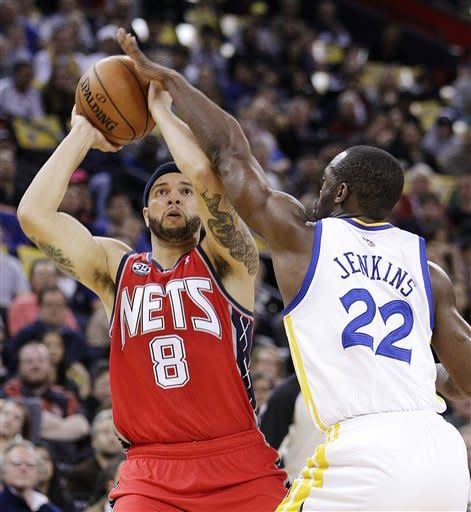 Nets rally from 19 down to beat Warriors