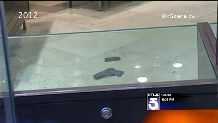 Employee Opens Fire on Robbers at Mall Jewelry Store