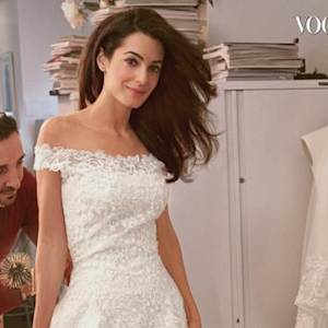 Everything You Need to Know About Amal Alamuddin's Wedding Dress