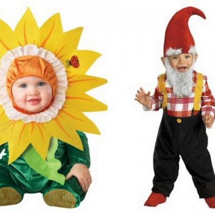 Garden Gnome and Flower