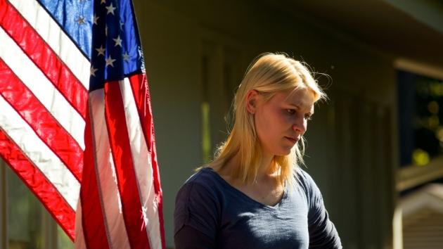 Claire Danes as CIA agent Carrie Mathison on Showtime's 'Homeland' -- Showtime