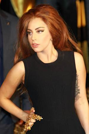 Lady Gaga attends the launch of Fame by Lady Gaga at Harrods on October 7, 2012 in London -- Getty Premium