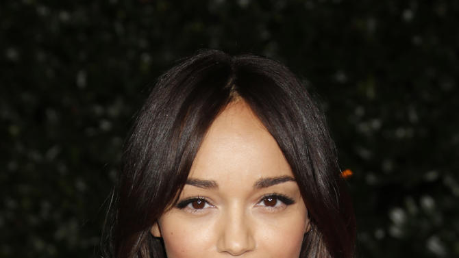 Ashley Madekwe attends the Topshop Topman LA Opening Party At Cecconi's in Los Angeles, on Wednesday, Feb. 13, 2013 in Los Angeles. (Photo by Todd Williamson/Invision for/AP)