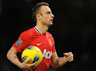 Dimitar Berbatov, pictured in 2011, has said it would be &quot;better for everyone&quot; if he left Manchester United even though he wants to stay at the English Premier League giants