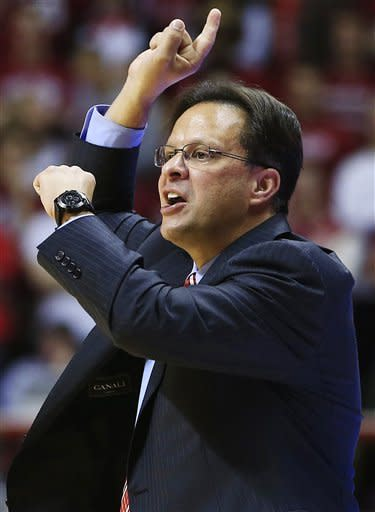 Zeller leads No. 1 Indiana past Bryant 97-54