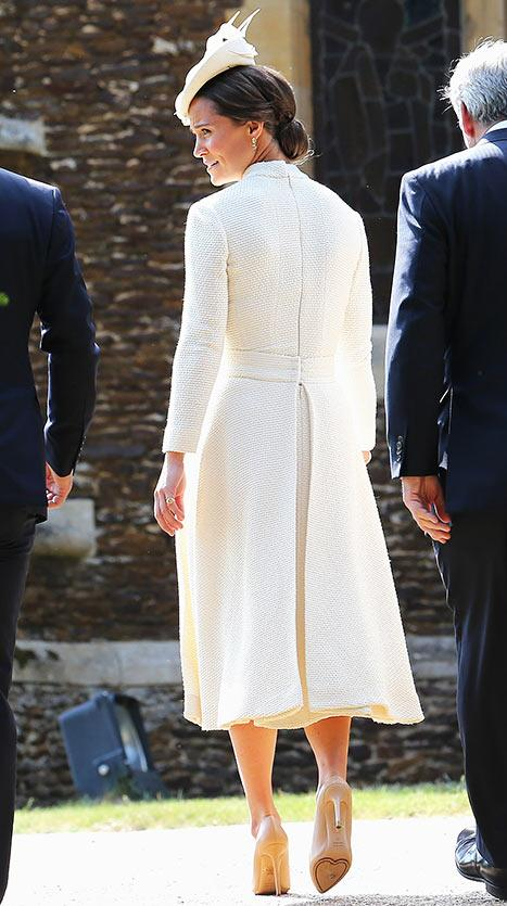 Pippa Middleton Dons Sky-High Heels for Princess Charlotte's Christening