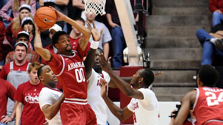 NCAA Basketball: Arkansas at Alabama