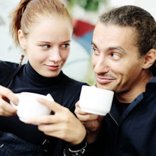 Couple Drinking Tea
