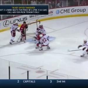 Coyotes at Blackhawks / Game Highlights
