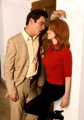"Elvis (Jonathan Rhys-Meyers) and Ann-Margret (Rose McGowan) ""Elvis"" - 2005"