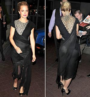 Mena Suvari, Tara Reid Wow in Glamorous Black Gowns