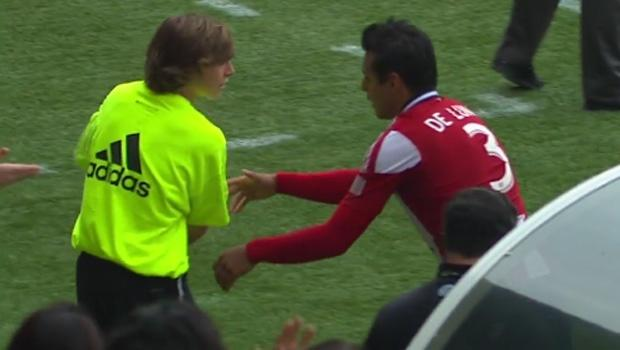 MLS clarifies suspension to Chivas USA's Mario de Luna for ball boy incident in Portland