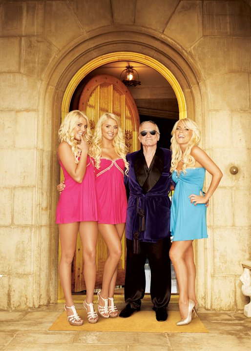 "While the original gals from ""Girls Next Door"" have moved on to marriage, motherhood, and other reality shows, three new girls (including perky twins) are moving into the mansion and onto Hef's, um, s"