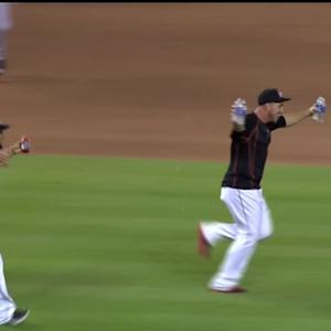 Prado's walk-off single