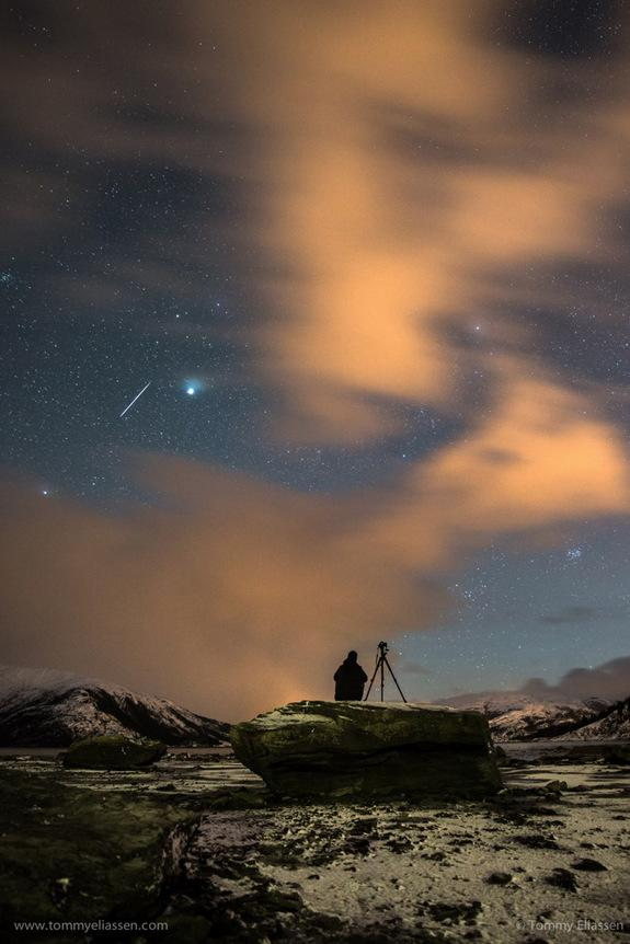 Stunning Geminid Meteor Shower Views Wow Skywatchers (Photos)