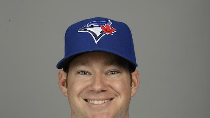 This is a 2015 photo of Preston Guilmet of the Toronto Blue Jays baseball team. This image reflects the Toronto Blue Jays active roster as of Saturday, Feb. 28, 2015, when this image was taken at spring training in Dunedin, Fla. (AP Photo/Lynne Sladky)