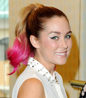 PIC: Lauren Conrad Rocks Newly Dyed, Hot-Pink Ponytail