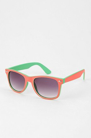Colorblock Sunglasses from Urban Outfitters