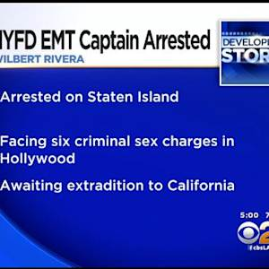 Decorated NY Fire Department Captain Accused Of Sex Crimes Against Children In Hollywood