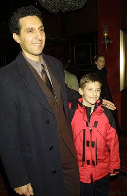 John Turturro and son Amedeo at the New York premiere of Touchstone's O Brother, Where Art Thou