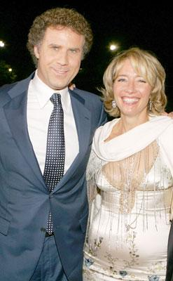 Will Ferrell and Emma Thompson at the Los Angeles premiere of Columbia's Stranger Than Fiction