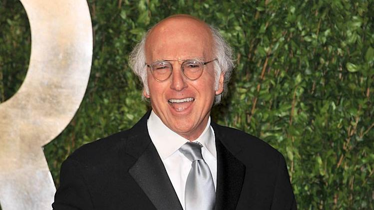 Larry David Vanity Fair Prty