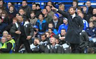 Chris Hughton (left) and Andre Villas-Boas