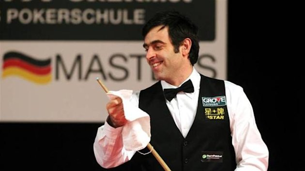 Ronnie O'Sullivan, German Masters, February 2012