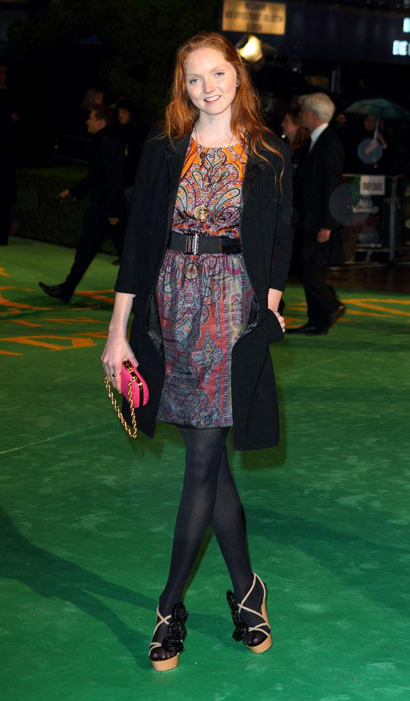 Alice in Wonderland UK Premiere 2010 Lily Cole