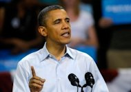 "US President Barack Obama officially kicked off his 2012 re-election campaign in Richmond, Virginia. Obama has tried to duplicate the simple clarity of his previous election campaign theme ""Hope"" with his new rallying cry ""Forward."""