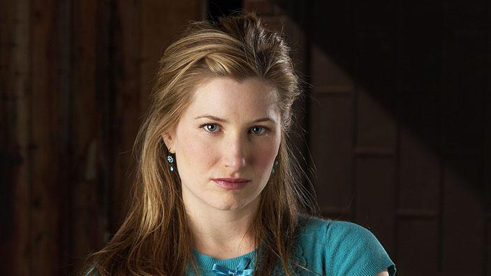 Kathryn Hahn stars as Lily Lebowski in Crossing Jordan on NBC.