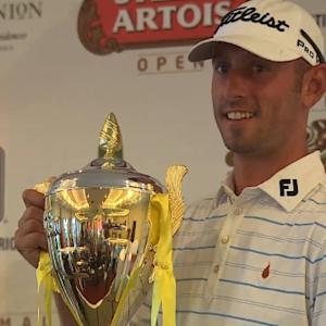 Danny Balin wins despite play being suspended at Guatemala Stella Artois Open