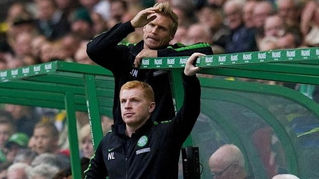Johan Mjallby, top, thinks Celtic 'has reacted in the best way' in taking action against fans involved in Friday's vandalism