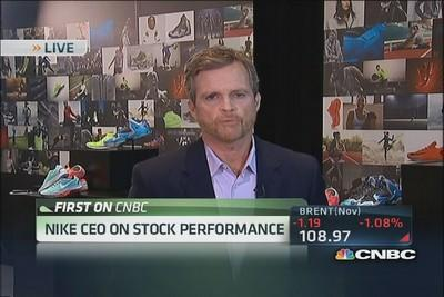 Nike CEO: Expecting very solid holiday season