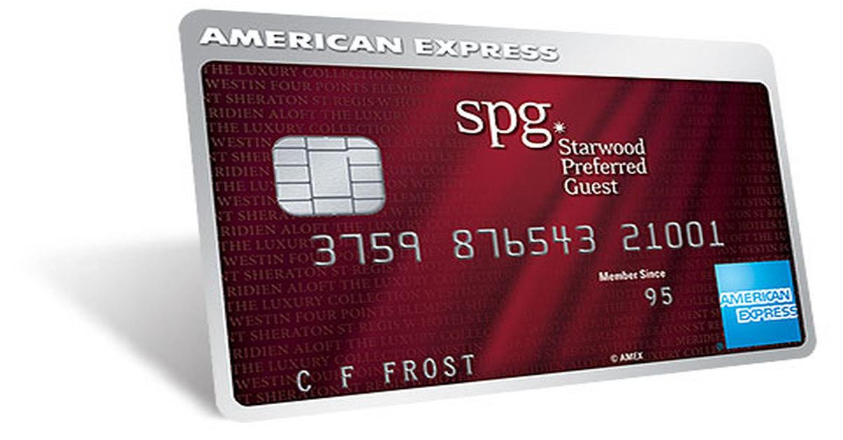 Starwood Credit Card