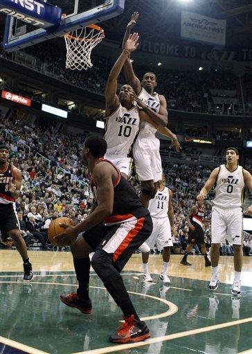 Millsap scores 19 as Jazz rally past Blazers 93-89