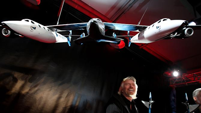 Richard Branson Reveals Plans For Virgin Galactic Space Vehicles