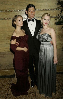 Natalie Portman , Eric Bana and Scarlett Johansson at the Royal Premiere of Columbia Pictures' The Other Boleyn Girl
