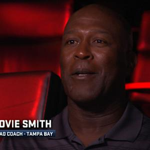 Tampa Bay Buccaneers head coach Lovie Smith 1-on-1 interview regarding recent NFL news