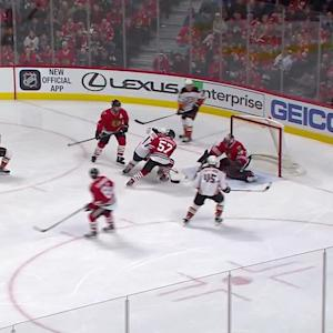 Silfverberg's game-tying goal