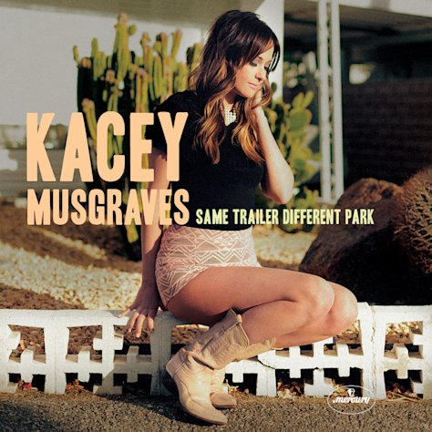 This CD cover image released by Mercury Nashville shows &quot;Same Trailer Different Park,&quot; by Kacey Musgraves. (AP Photo/Mercury Nashville)