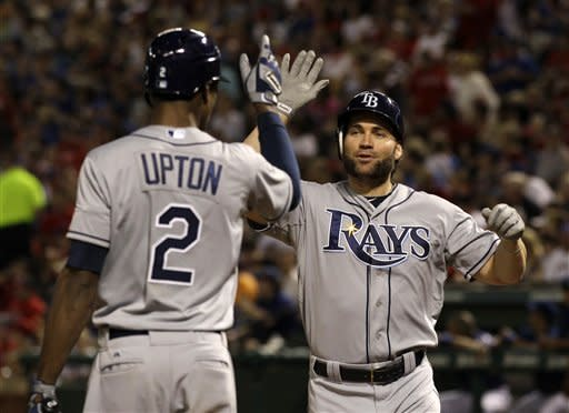 Longoria has 4 RBIs as Rays beat Rangers 8-4