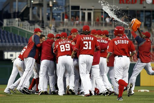 Brown lifts Nationals past Marlins 7-6 in 10