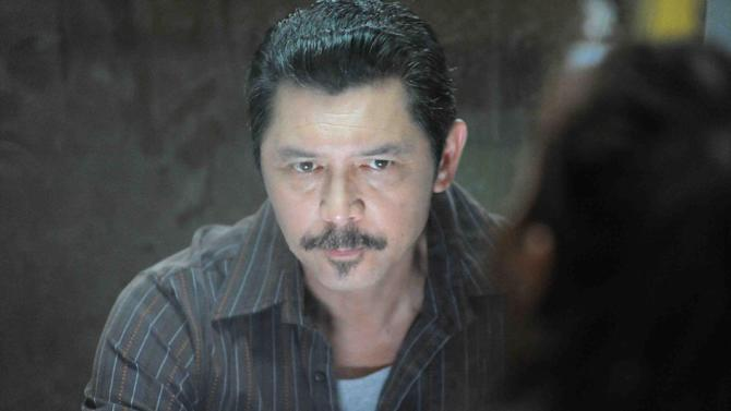 """This publicity photo provided by Pantelion Films shows Lou Diamond Phillips in a scene from the film, """"Filly Brown."""" The film releases on April 19, 2013. (AP Photo/Pantelion Films/Lionsgate, John Castillo)"""