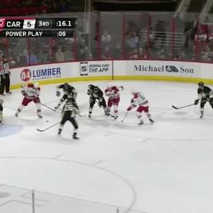 Marc-Andre Fleury Save on Jordan Staal (19:46/3rd)