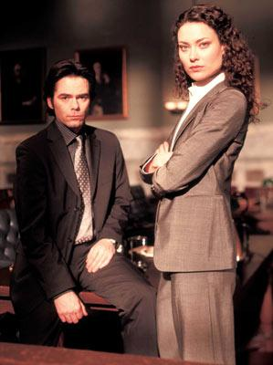 Billy Burke and Shalom Harlow Fox's The Jury